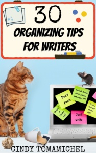 30 organizing tips for writers